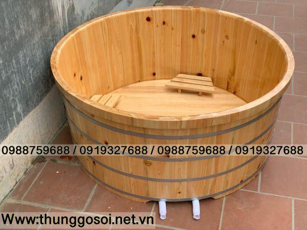 bán bồn tắm gỗ dành cho 2 người