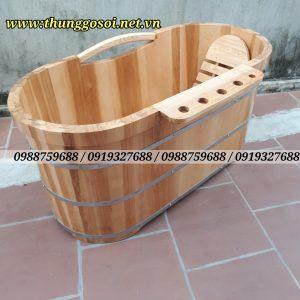 bán bồn tắm gỗ sồi