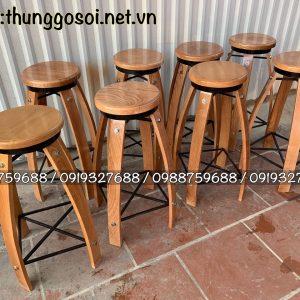 bán ghế bằng gỗ