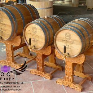 bán thùng rượu gỗ sồi cao cấp