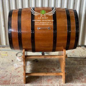 bán thùng rượu gỗ ướp lạnh
