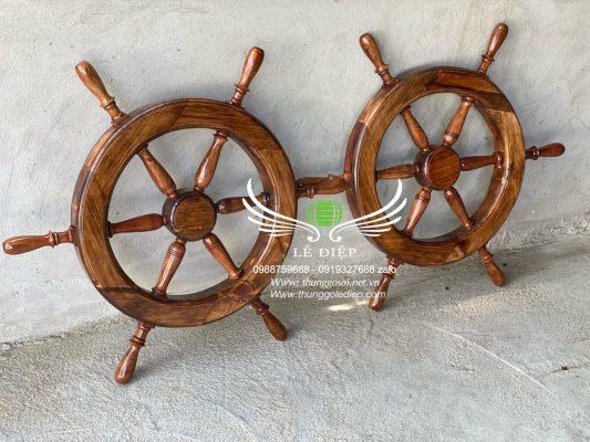 bánh lái thuyền bằng gỗ