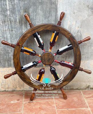 bánh lái tàu thuyền bằng gỗ