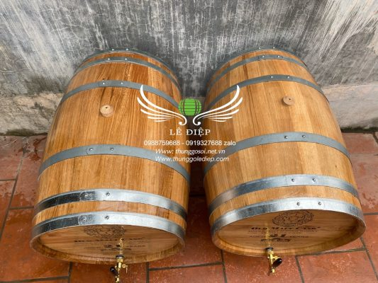 bom rượu gỗ