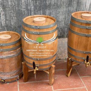 bom ủ rượu gỗ sồi