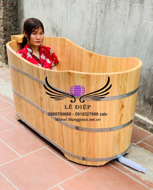 bồn tắm gỗ hinoki