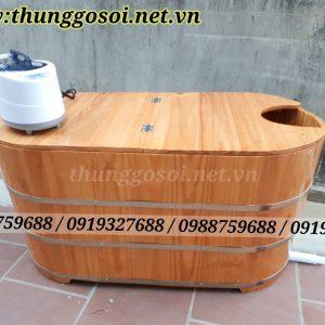 bồn tắm gỗ xông hơi giá rẻ