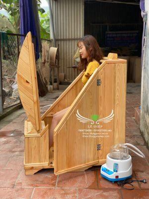 cabin gỗ xông hơi cao cấp