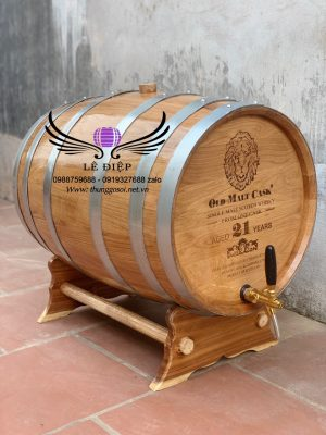 thùng rượu gỗ sồi 100l