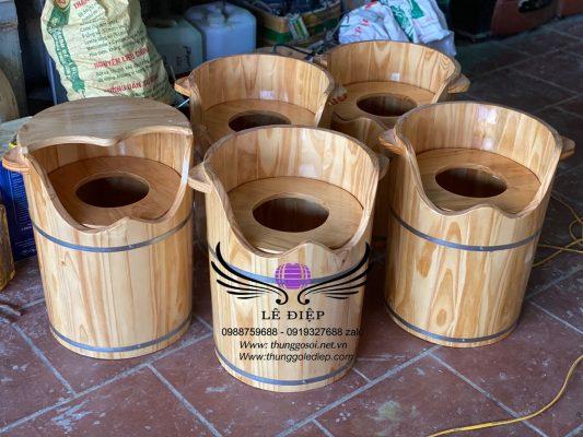 bán bồn gỗ xông phụ khoa