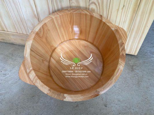 bồn gỗ ngâm chân thảo dược