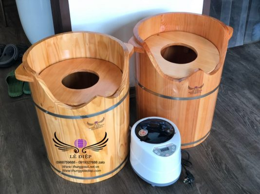 thùng gỗ xông vùng kín giá rẻ