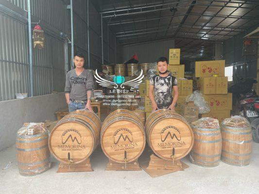 thùng ngâm ủ rượu